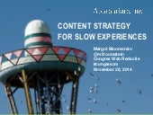 Content strategy for deliberate discovery at CongresCM