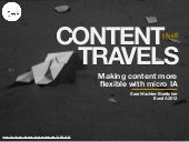 Content that Travels: Euro IA 2012
