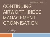 Continuing airworthiness management...
