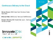 Continuous Delivery to the cloud - ...