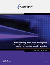 Transforming the Global Enterprise ...