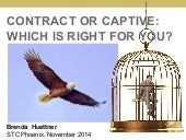 Contract or Captive: Which is right for you?