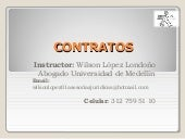 Contratos analisis logistica 24 julio