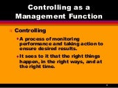 Controlling ppt