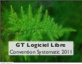 GT Logiciel Libre - Convention Systematic 2011