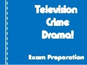 Conventions of a television crime d...