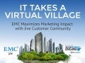 EMC Maximizes Marketing Impact with Jive Customer Community