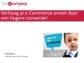 Conversie optimalisatie e-Commerce Expo 2014
