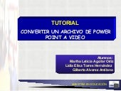 Convertir En Video Archivo Ppt