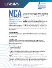 Convocatoria 2013 MCA