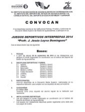 dConvocatoria interprepas2014