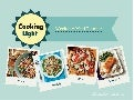 Cooking Light Weeknight Menu Planner