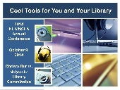 Cool Tools for You and Your Library: NLA/NSLA 2014