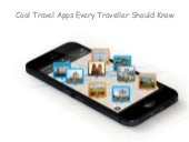 Cool Travel Apps Every Traveller Should Know