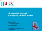 Cooperation Issues In Developing Th...