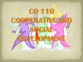 Cooperatives And Social Development...