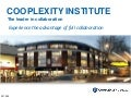 Cooplexity Institute Overall Presentation