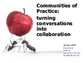 Communities of Practice: Conversati...
