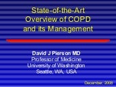 State-of-the-Art Overview of COPD a...