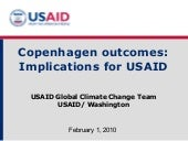 Copenhagen Outcomes And Usaid  Nair...