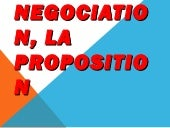 Copie de la negociation, la proposi...