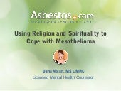 Using Religion and Spirituality to Cope with Mesothelioma