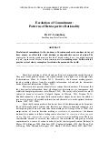 Dr. Fred C. Lunenburg,   Escalation of Commitment - Published in the INTERNATIONAL JOURNAL OF MANAGEMENT, BUSINESS, AND ADMINISTRATION - www.nationalforum.com