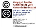 Copyright, Creative Commons and Libre Culture in New Zealand - Mark McGuire Jan. 31 2014