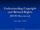 Copyrights and related rights prese...