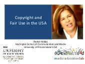 Copyright and Fair Use for Digital Learning in the USA