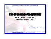The Freelance Copywriter: What Can ...