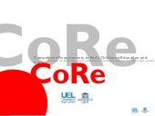 'CoRe findings: literature review' ...