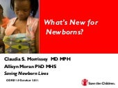 What's New for Newborns_Claudia Mor...