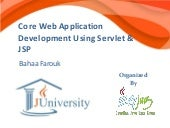 Core web application development