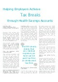 Helping Employers Achieve Tax Breaks through Health Savings Accounts -  Duncan Van Dusen, Tango Health