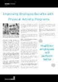 Improving Employee Benefits with Physical Activity Programs - Andy Greenberg, GlobalFit