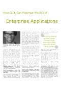 How CLOs Can Maximize the ROI of Enterprise Applications - Jay Kuhlman, Assima
