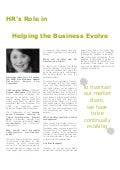 HR's Role in Helping the Business Evolve - Jenn Crenshaw, Burger King Corporation