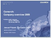 Comarch Corporate Presentation