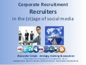 Workshop Corporate Recruitment, Rec...