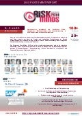 Post Event Report der Corporate Risk Minds 2013 Konferenz in Berlin