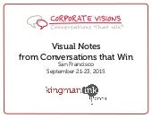 "Visual Notes from ""Conversations that Win"" 2015"