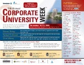 11th Annual Corporate University We...