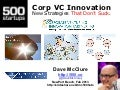 Corporate VC Innovation: Strategies That Don't Suck