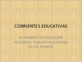 Corrientes educativas 2