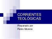 Corrientes teológicas