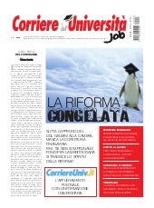 Corriere dell'università job   otto...
