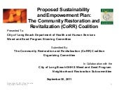 Proposed Sustainability and Empower...