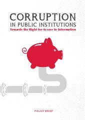 Corruption in Public Institutions.E...
