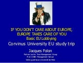basic eu lobbying - Corvinus Univer...